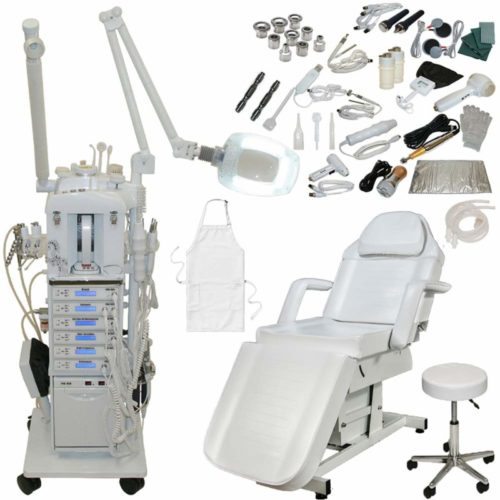 LCL Beauty 22 in 1 Microdermabrasion Facial Machine (Fully Electric Bed)