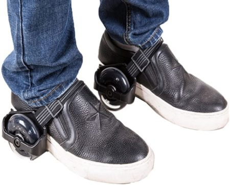 Bxya Shoes With Wheels