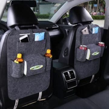 FULL WERK Car Back Seat Organizers