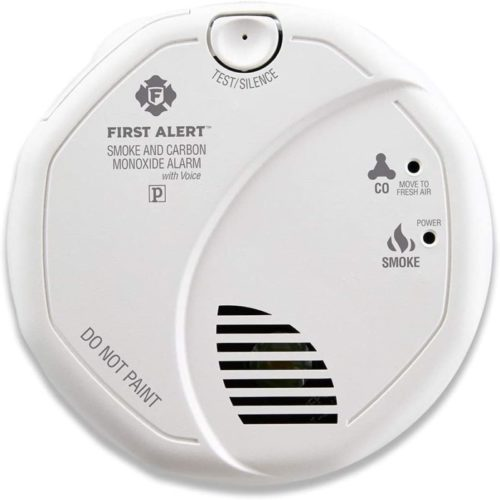 First Alert BRK SC7010B Hardwired Smoke and Carbon Monoxide (CO) Detector with Photoelectric Sensor