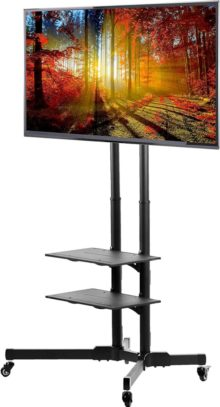 VIVO Rolling TV Stands