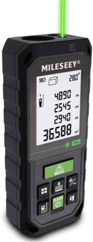 MiLESEEY-Laser-Measure-229Ft-Green-Laser-Measuring-Device-with-Angle-Sensor-Real-Time-Digital-Laser-Distance-Meter-with-Backlit-LCD-for-Auto-height-level-Pythagorean-Area-and-Volume-Measure
