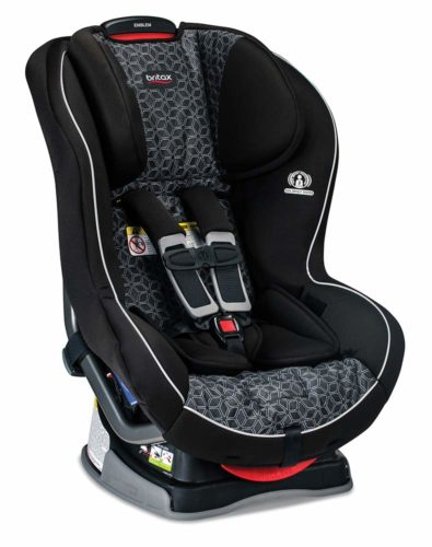 Britax Emblem 3 Stage Convertible Car Seat - Rear & Forward Facing | 5 to 65 Pounds - 2 Layer Impact Protection, Fusion