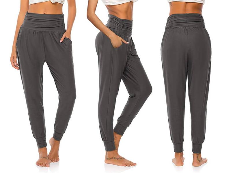10. DIBAOLONG Womens Yoga Sweatpants Loose Workout Joggers Pants