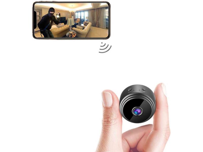 2. AREBI Spy Camera Wireless Hidden WiFi Mini Camera HD 1080P