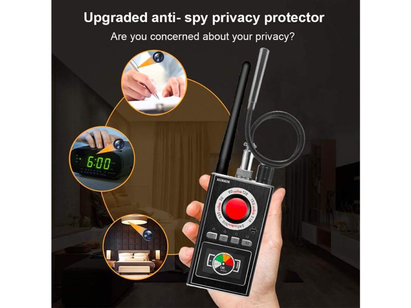 3. Portable Anti Spy Detector&Hidden Camera Detector