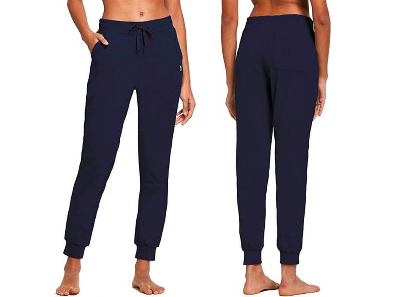 5. BALEAF Women's Cotton Sweatpants Cozy Joggers Pants