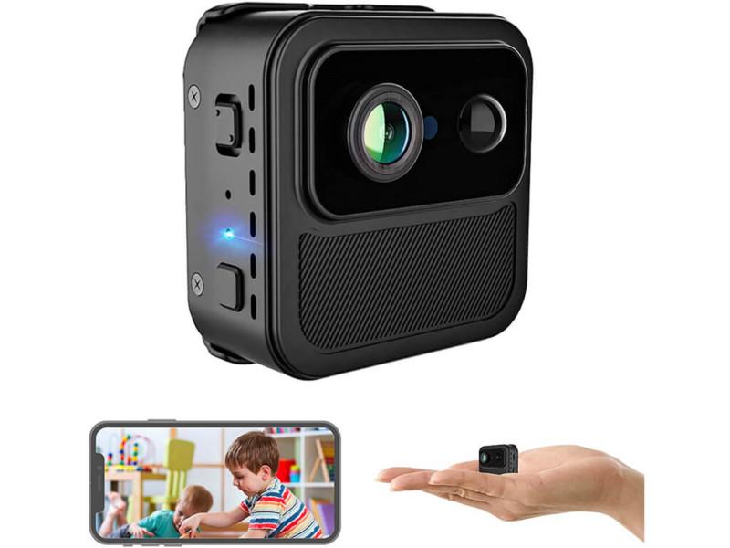 6. 4K Mini WiFi Spy Camera Wireless Hidden
