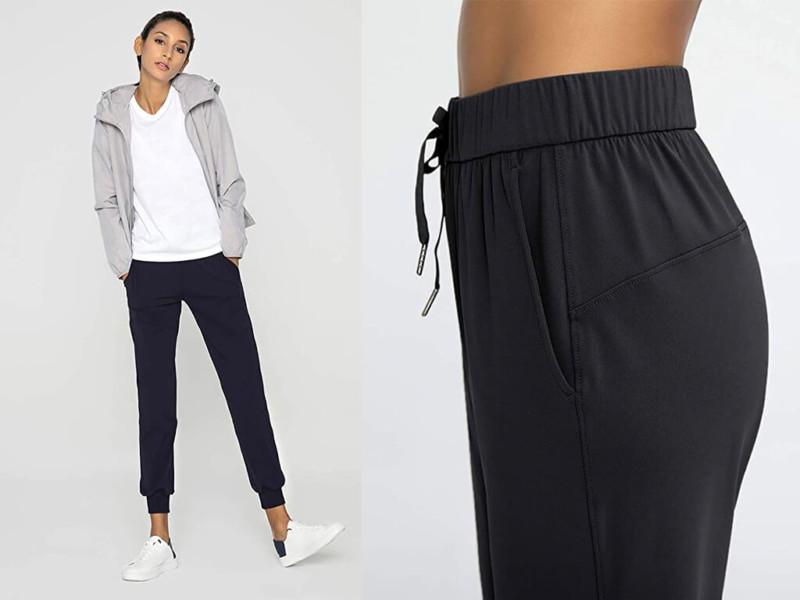 6. AJISAI Women's Joggers Pants