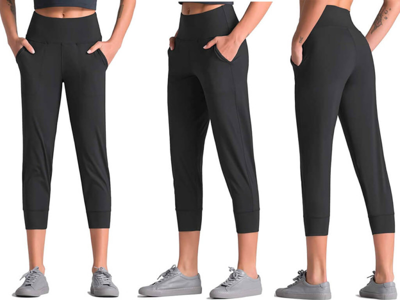 7. Dragon Fit Joggers for Women with Pockets
