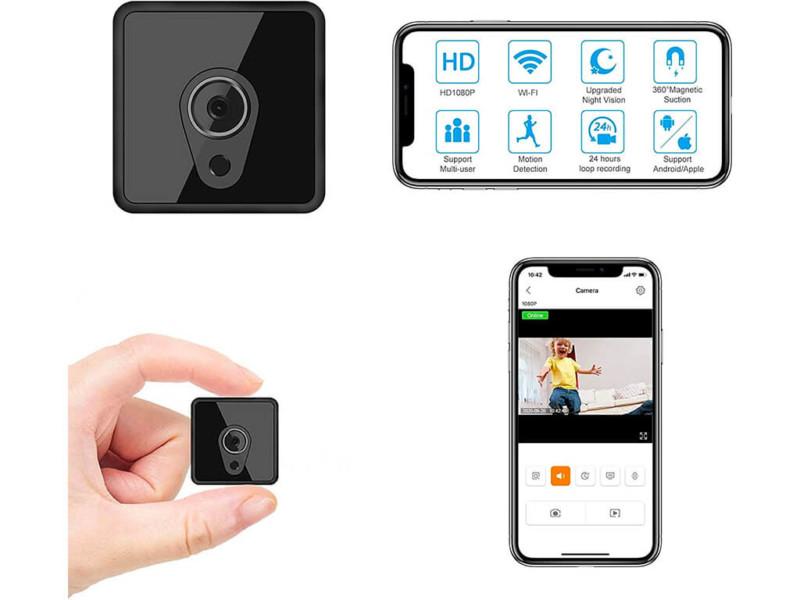 8. Mini Spy Camera 1080P WiFi