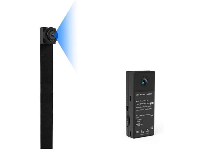 9. Mini Spy Camera 1080P WiFi
