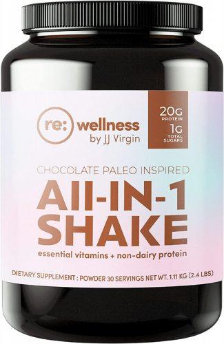Reignite Wellness Chocolate Paleo-Inspired All-in-One Shake - Keto Diet Friendly