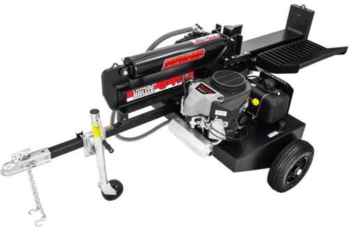Swisher LSED14534 34 Ton Timber Brute Commercial Pro 14.5 hp Log Splitter, Black