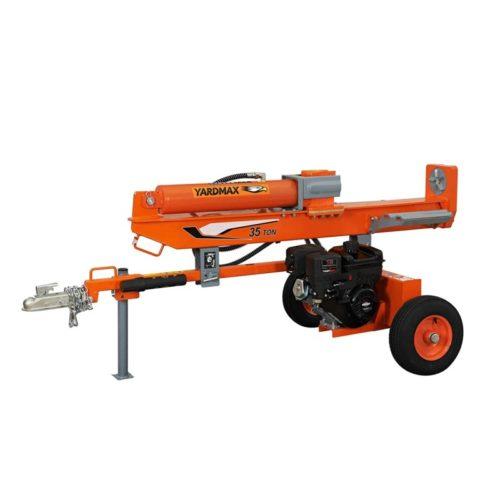 YARDMAX YU3566 35 Ton Full Beam Gas Log Splitter, Briggs XR1450, 10.5HP, 306cc