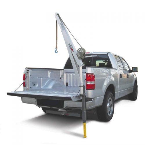 SpitzLift LKTRS-700 Pickup Truck Receiver Hitch Crane Package w/20' Strap