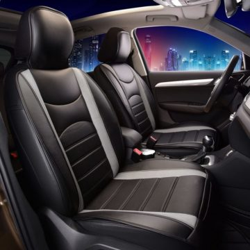FH Group Leather Car Seat Covers