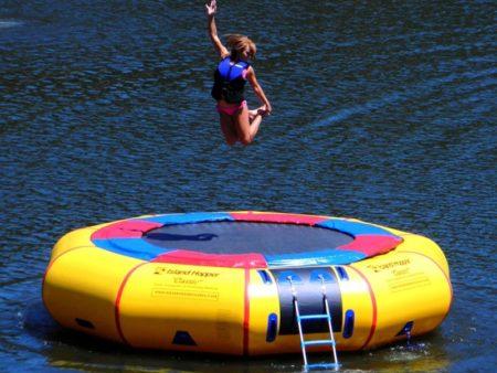 Island Hopper Water Trampolines for Summer Fun